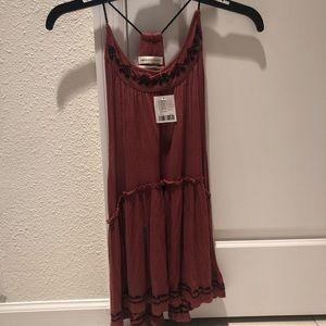 Urban Outfitters Small NWT Pink Red Tank Top